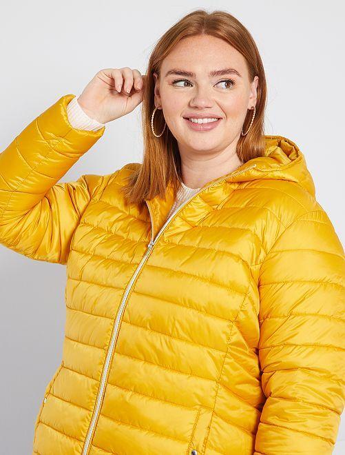 Doudoune éco-conçue                                                                 jaune