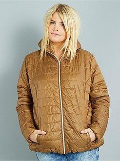 Manteau, veste taille 46/48 - Doudoune légère avec capuche