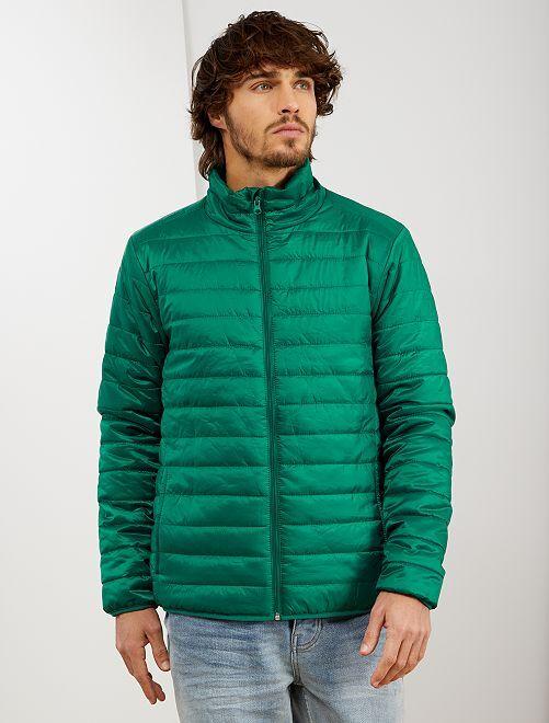 Doudoune light 'éco-conception'                                                                 vert