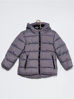 Garçon 4-12 ans Doudoune matelassée capuche doublée polaire