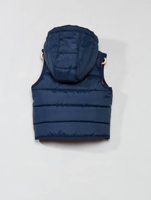 30058455b00 Doudoune sans manches Bébé garçon - bleu marine - Kiabi - 12