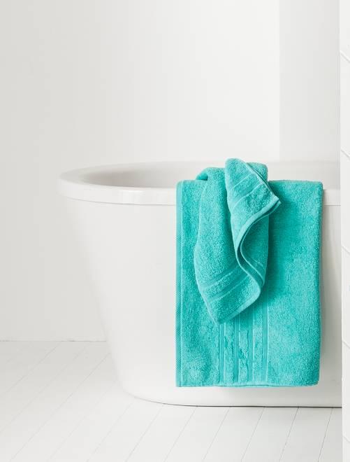 Drap de bain 70 x 130 cm 500gr                                                                                                                                                     BLEU Linge de lit