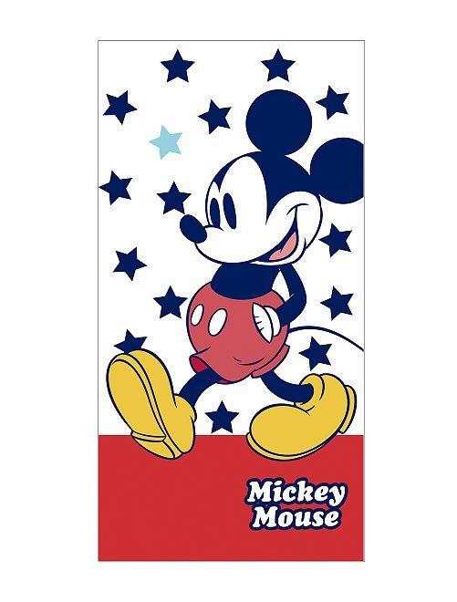 Drap de plage 'Mickey Mouse' de 'Disney'                             blanc / rouge Garçon