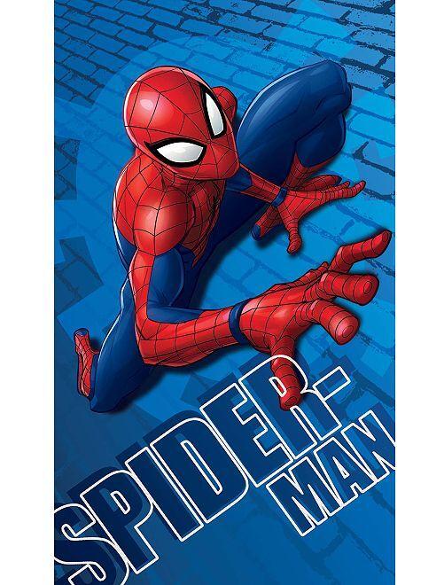 Drap de plage 'Spider-Man'                             bleu