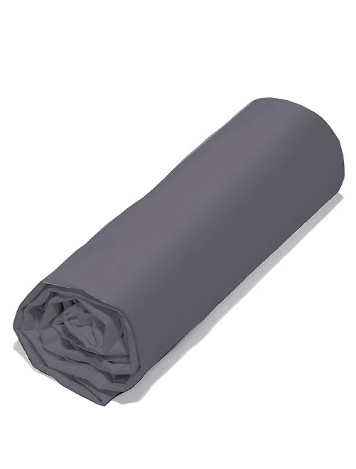 Drap housse éco-conçu                                                                                                     gris anthracite