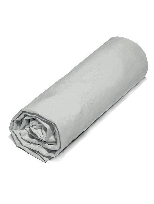 Drap housse en micro-fibres                                                                                                                                         gris