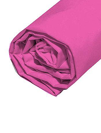 drap housse uni 90 x 200 cm linge de lit kiabi 8 00. Black Bedroom Furniture Sets. Home Design Ideas