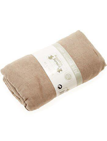 Choisissez la couleur qu'il vous faut ! - Drap housse pour lit bébé - 100% coton - Jersey extensible - Dimensions: 60 x 120 cm environ