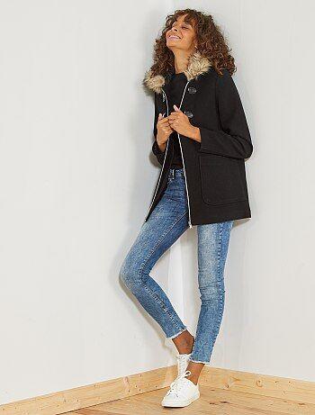 Duffle coat avec laine