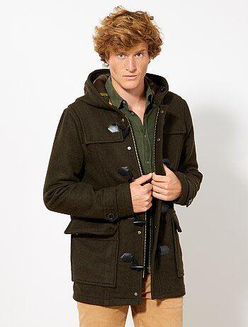 Duffle coat en lainage
