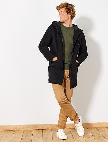 Duffle coat en lainage - Kiabi