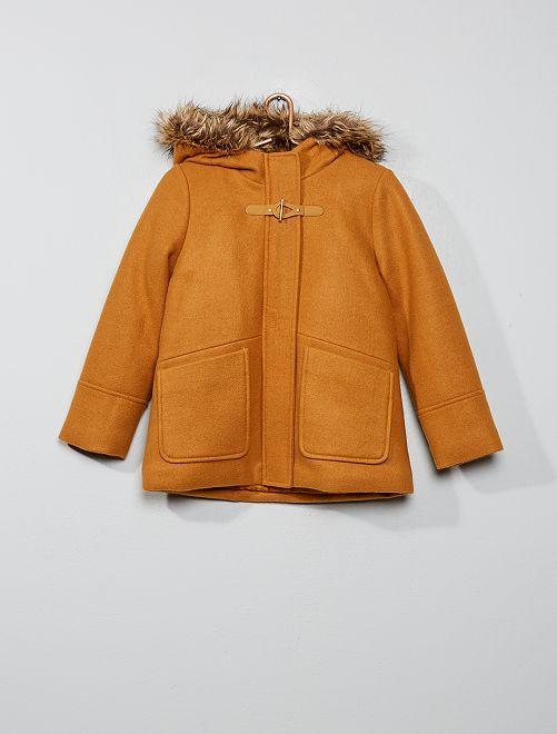 Duffle coat                                                     moutarde