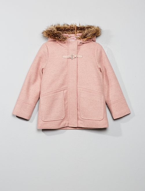 Duffle coat                                                     rose