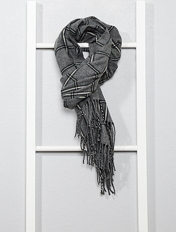 Écharpe à carreaux - Kiabi