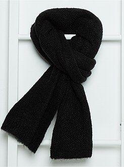 Echarpe, gants, bonnet - Écharpe en tricot extensible toucher doux - Kiabi