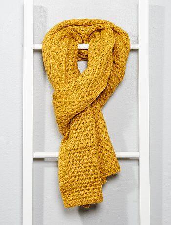Écharpe en tricot - Kiabi