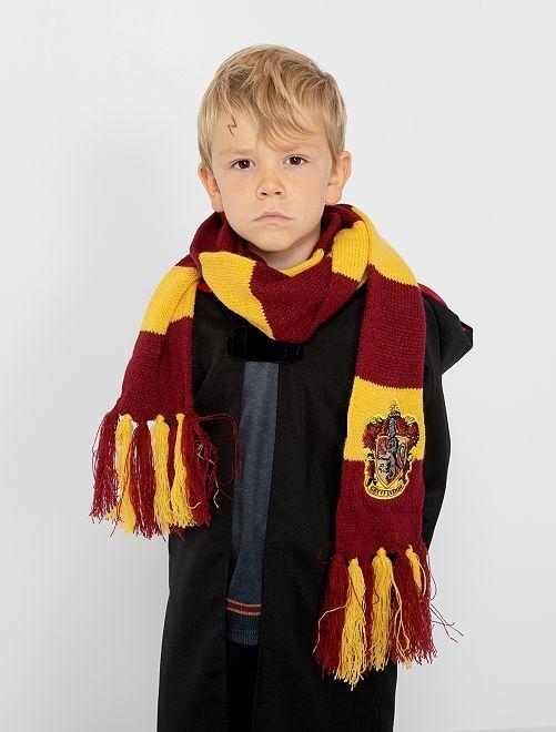 Echarpe 'Gryffondor' 'Harry Potter'                             bordeaux/jaune