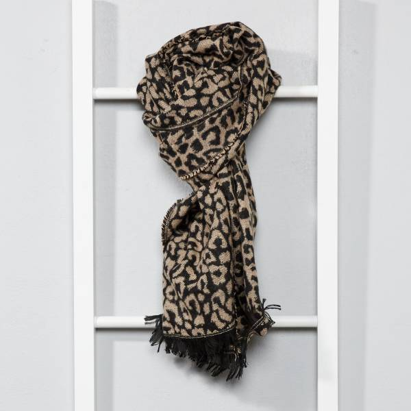 haut de gamme authentique prix le plus bas Couleurs variées Écharpe motifs léopard