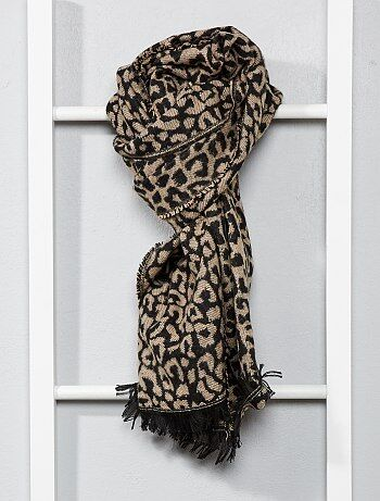 d3138ab801b Écharpe motifs léopard - Kiabi