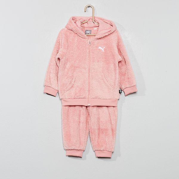Ensemble de jogging 'Puma' Bébé fille - rose - Kiabi - 45,00€