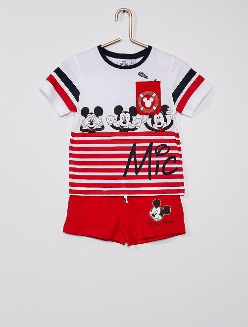 Ensemble 'Mickey'                                         rouge