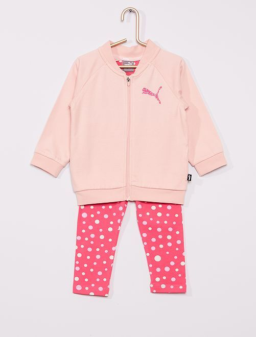 Ensemble 'Puma' veste + pantalon                             rose