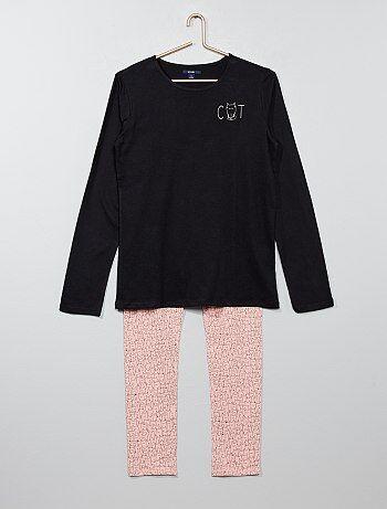 Ensemble pyjama coton