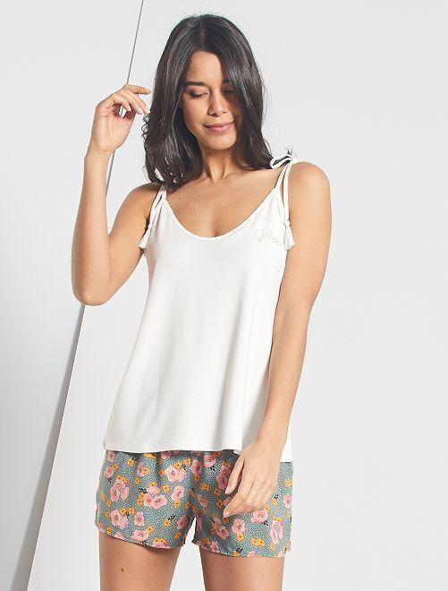 Ensemble pyjashort                             kaki