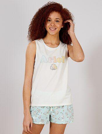 797450478b2ba Ensemble pyjashort  La petite sirène  de  Disney  - Kiabi