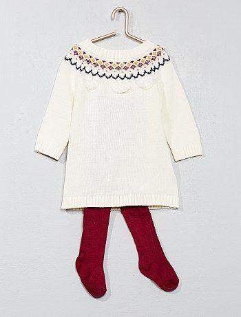 Ensemble robe + collant + bandeau - Kiabi
