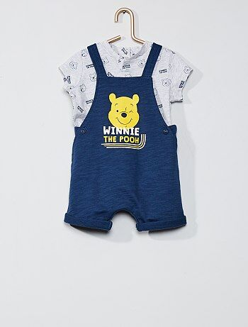 Ensemble salopette et tee-shirt 'Winnie' 'Disney'