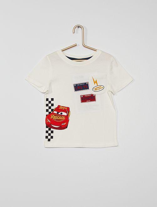 Ensemble short + t-shirt 'Mickey' de 'Disney'                                         blanc