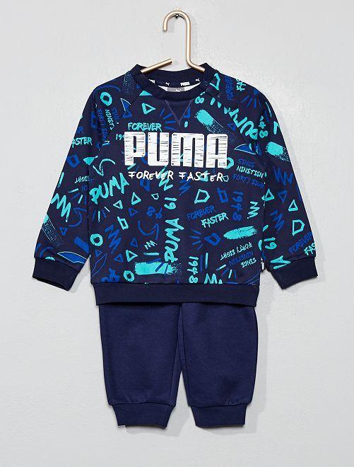 Ensemble sweat + jogging 'Puma'                                         bleu Bébé garçon
