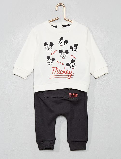 Ensemble sweat + pantalon 'Disney'                             blanc