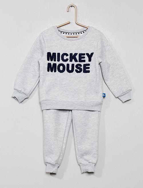 Ensemble sweat + pantalon 'Mickey'                     gris