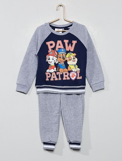 Ensemble sweat + pantalon 'Pat'Patrouille'                                         gris