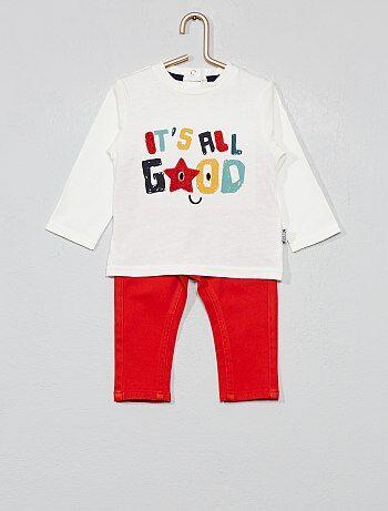 Garçons en Coton Vert T Shirt Avec Red /'Awesome Mec Skate Jam 1987/'