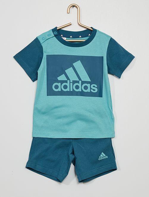 Ensemble t-shirt + short 'Adidas'                             bleu