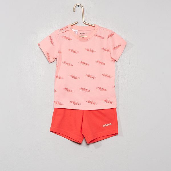 adidas ensemble short t shirt