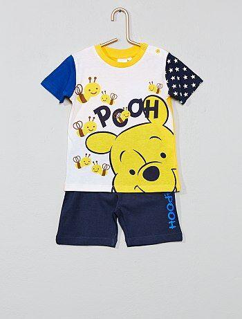 018847ae909d3 Garçon 0-36 mois - Ensemble t-shirt + short  Winnie  -