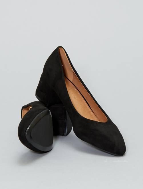 Escarpins en suédine                                                     noir Chaussures