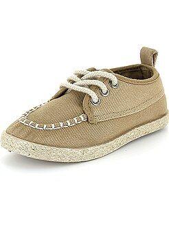 Chaussures garçon - Espadrilles à lacets