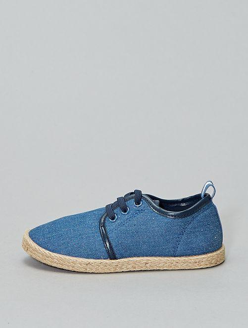 Espadrilles à lacets                             bleu navy Chaussures