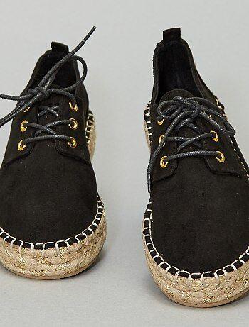 Soldes espadrilles femme pas chères Chaussures adultes et