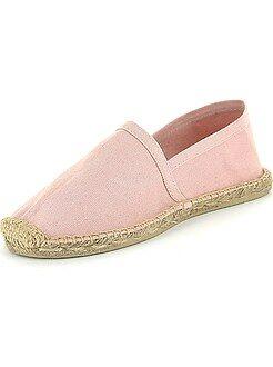 Chaussures - Espadrilles en toile - Kiabi