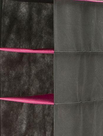 etag re suspendue de rangement chaussures linge de lit gris kiabi 9 00. Black Bedroom Furniture Sets. Home Design Ideas