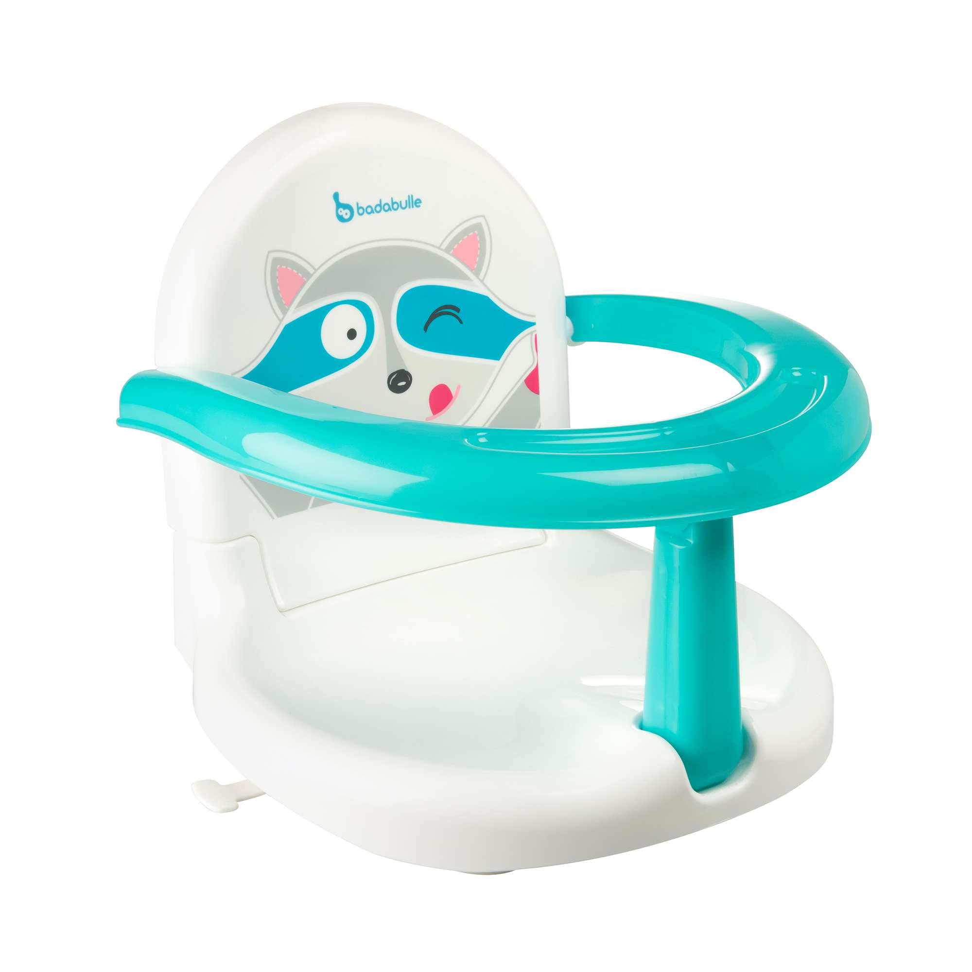 Couleur : blanc/bleu, , ,, - Taille : TU, , ,,Pliable, ce siège de bain est pratique pour le rangement et le transport car il ne
