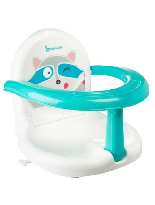 Fauteuil de bain pliable 'Badabulle'                             blanc/bleu