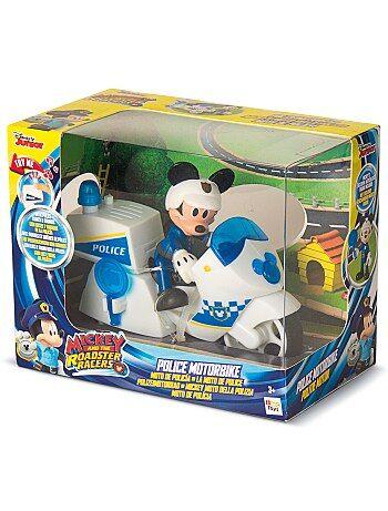 Figurine 'Mickey' moto de police - Kiabi