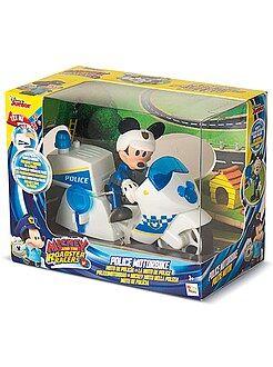 Jouets - Figurine 'Mickey' moto de police - Kiabi
